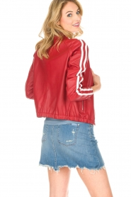 Arma |  Leather Jacket Passoa | red  | Picture 5