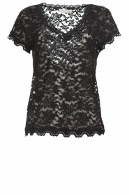 Rosemunde | Lace top Sarah | black  | Picture 1