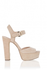 Leather sandals Kincade | nude
