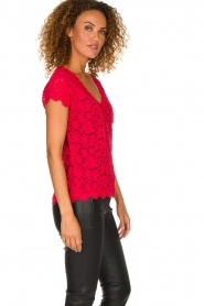 Rosemunde | Lace top Sarah | red  | Picture 4