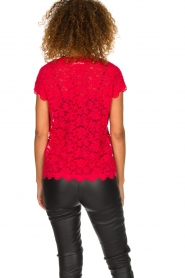 Rosemunde | Lace top Sarah | red  | Picture 5