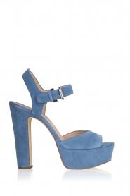 MICHAEL Michael Kors | Leren sandalen Kincade | blauw  | Afbeelding 1