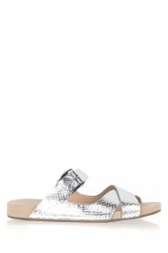 Met deze modieuze en comfortabele sandaal van michael kors kun jij deze zomer uren langs je favoriete ...