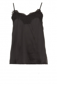 Rosemunde |  Silk top Elia | black  | Picture 1