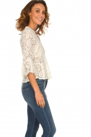 Rosemunde |   Lace top Sophia | white  | Picture 4