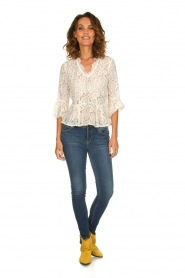 Rosemunde |   Lace top Sophia | white  | Picture 3