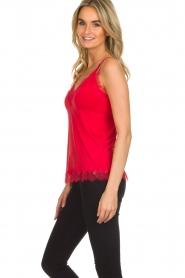 Rosemunde |  Silk top Elia | red  | Picture 3