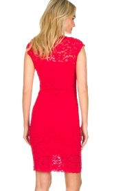 Rosemunde | Lace dress Rosa | red  | Picture 5