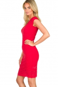 Rosemunde | Lace dress Rosa | red  | Picture 4