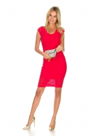 Rosemunde | Lace dress Rosa | red  | Picture 3