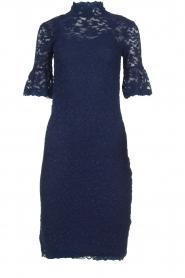 Rosemunde | Lace dress Benthe | blue  | Picture 1