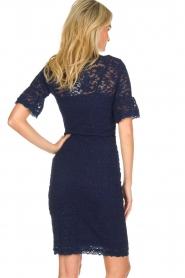 Rosemunde | Lace dress Benthe | blue  | Picture 5