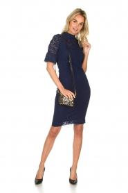 Rosemunde | Lace dress Benthe | blue  | Picture 3