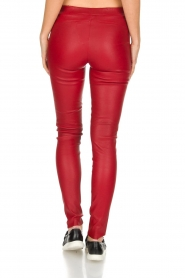 Arma | Lamsleren stretchlegging Roche | rood  | Afbeelding 5