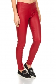 Arma | Lamsleren stretchlegging Roche | rood  | Afbeelding 2
