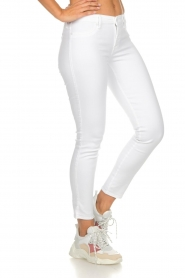 7 For All Mankind |  Cropped skinny jeans Jazz | white  | Picture 4