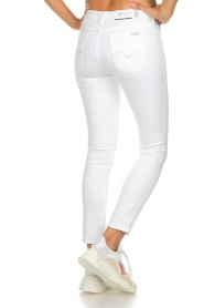 7 For All Mankind |  Cropped skinny jeans Jazz | white  | Picture 5