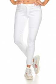 7 For All Mankind |  Cropped skinny jeans Jazz | white  | Picture 3
