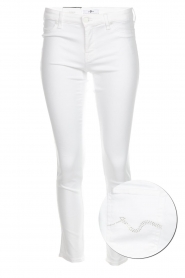7 For All Mankind |  Cropped skinny jeans Jazz | white  | Picture 1