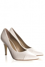 Noe | Leather pumps Nicole | natural  | Picture 4
