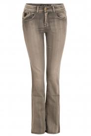 Lois Jeans | Flare jeans Melrose lengtemaat 32 | grijs  | Afbeelding 1