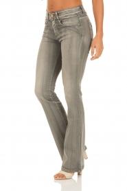 Lois Jeans | Flare jeans Melrose lengtemaat 32 | grijs  | Afbeelding 4