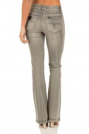Lois Jeans | Flare jeans Melrose lengtemaat 32 | grijs  | Afbeelding 5