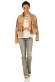 Lois Jeans | Flare jeans Melrose lengtemaat 32 | grijs  | Afbeelding 3