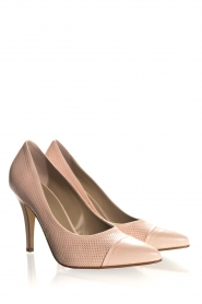 Noe | Leather pumps Nicole | nude  | Picture 4