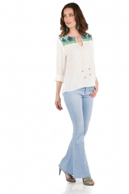 Lois Jeans | Flared jeans Raval lengtemaat 32 | blauw  | Afbeelding 3
