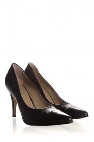 Noe |  Embossed leather pumps Nicole | black  | Picture 4