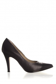 Noe |  Embossed leather pumps Nicole | black  | Picture 1