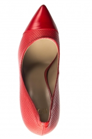 Noe | Leather pumps Nicole | red  | Picture 5