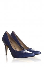 Noe | Leather pumps Nicole | blue  | Picture 4