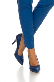 Noe | Leather pumps Nicole | blue  | Picture 3