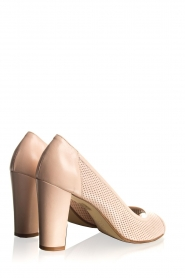 Noe |  Leather pumps Nicoline | nude  | Picture 5