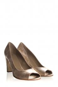 Noe | Leather pumps Nicoline | metallic  | Picture 4