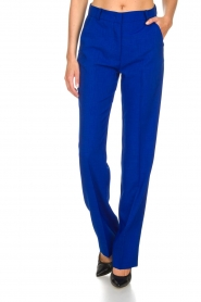 Essentiel Antwerp | Trousers Madeline | blue  | Picture 2