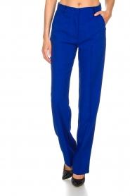 Essentiel Antwerp | Trousers Madeline | blue  | Picture 3