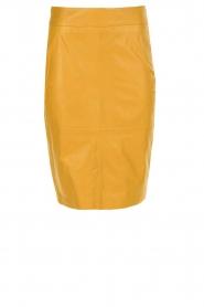 Arma | 100% lamsleren rok Inxs | geel  | Afbeelding 1