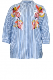 Essentiel Antwerp | Blouse Amelie | blue  | Picture 1