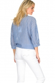 Essentiel Antwerp | Blouse Amelie | blue  | Picture 5