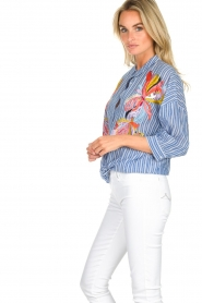 Essentiel Antwerp | Blouse Amelie | blue  | Picture 4