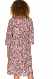 Essentiel Antwerp |  Dress with leopard print Sama | animal  | Picture 5
