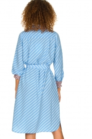 Essentiel Antwerp    Striped dress Sama   blue    Picture 5