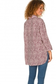 Essentiel Antwerp |  Blouse with leopard print Shreya | animal  | Picture 5