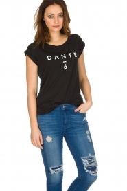 Dante 6 | T-shirt Logo | zwart  | Afbeelding 2