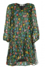 Dress with floral print Serci | black