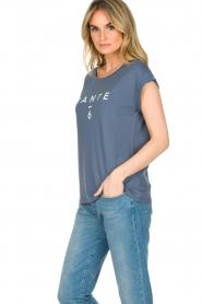 Dante 6 | T-shirt Logo | blauw  | Afbeelding 4