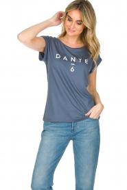 Dante 6 | T-shirt Logo | blauw  | Afbeelding 2